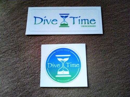 Dive Time ステッカー