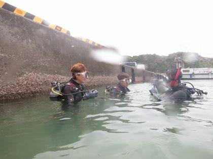 体験ダイビング282