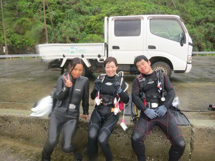 体験ダイビング8月15日