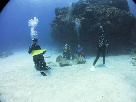 ダイビング海中バンド