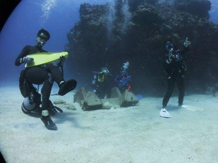 ダイビング海中バンド2