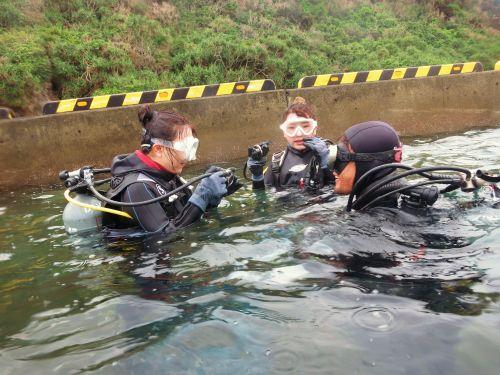 1月体験ダイビング2