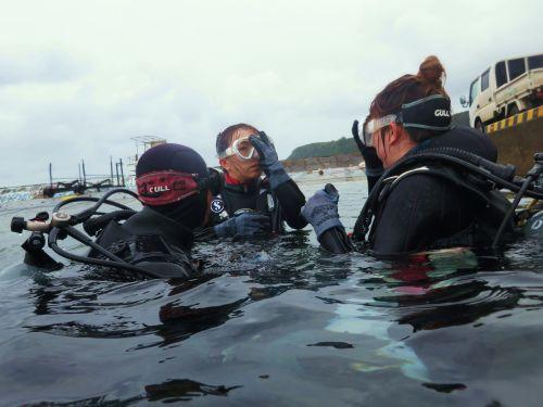 1月体験ダイビング1