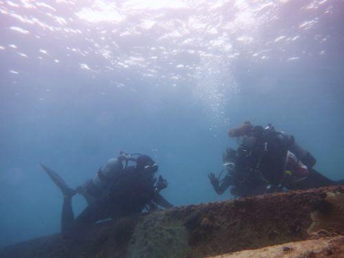 1月体験ダイビング3