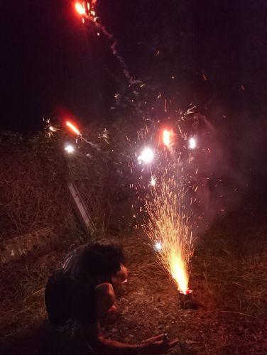 吹き出し花火