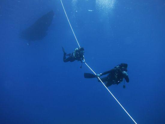 体験ダイビング2本目